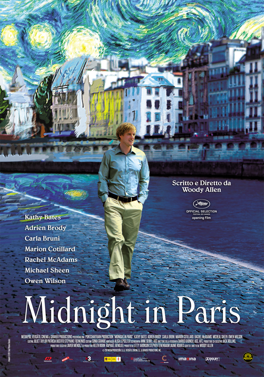 Nice Images Collection: Midnight In Paris Desktop Wallpapers