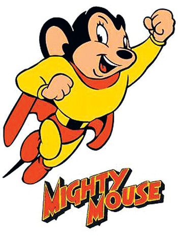 HD Quality Wallpaper | Collection: Cartoon, 350x475 Mighty Mouse
