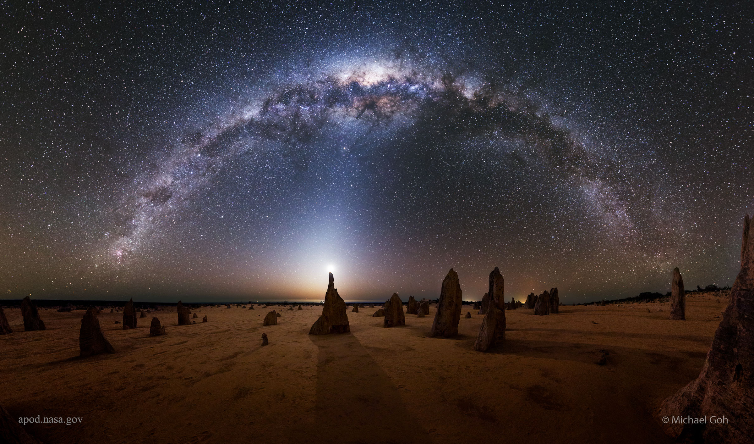 Milky Way Backgrounds on Wallpapers Vista