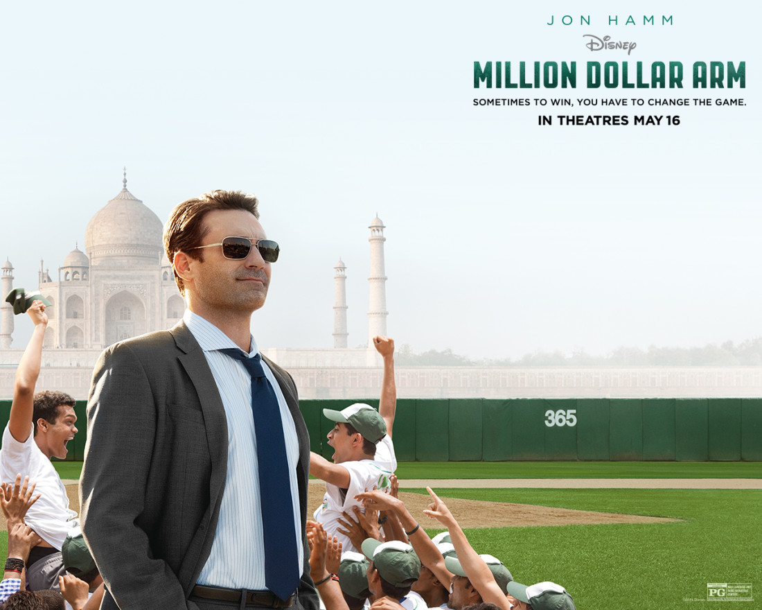 Nice Images Collection: Million Dollar Arm Desktop Wallpapers