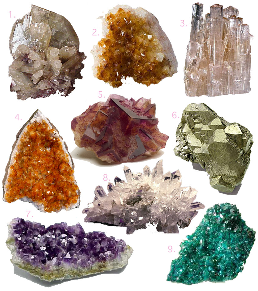 Amazing Mineral Pictures & Backgrounds