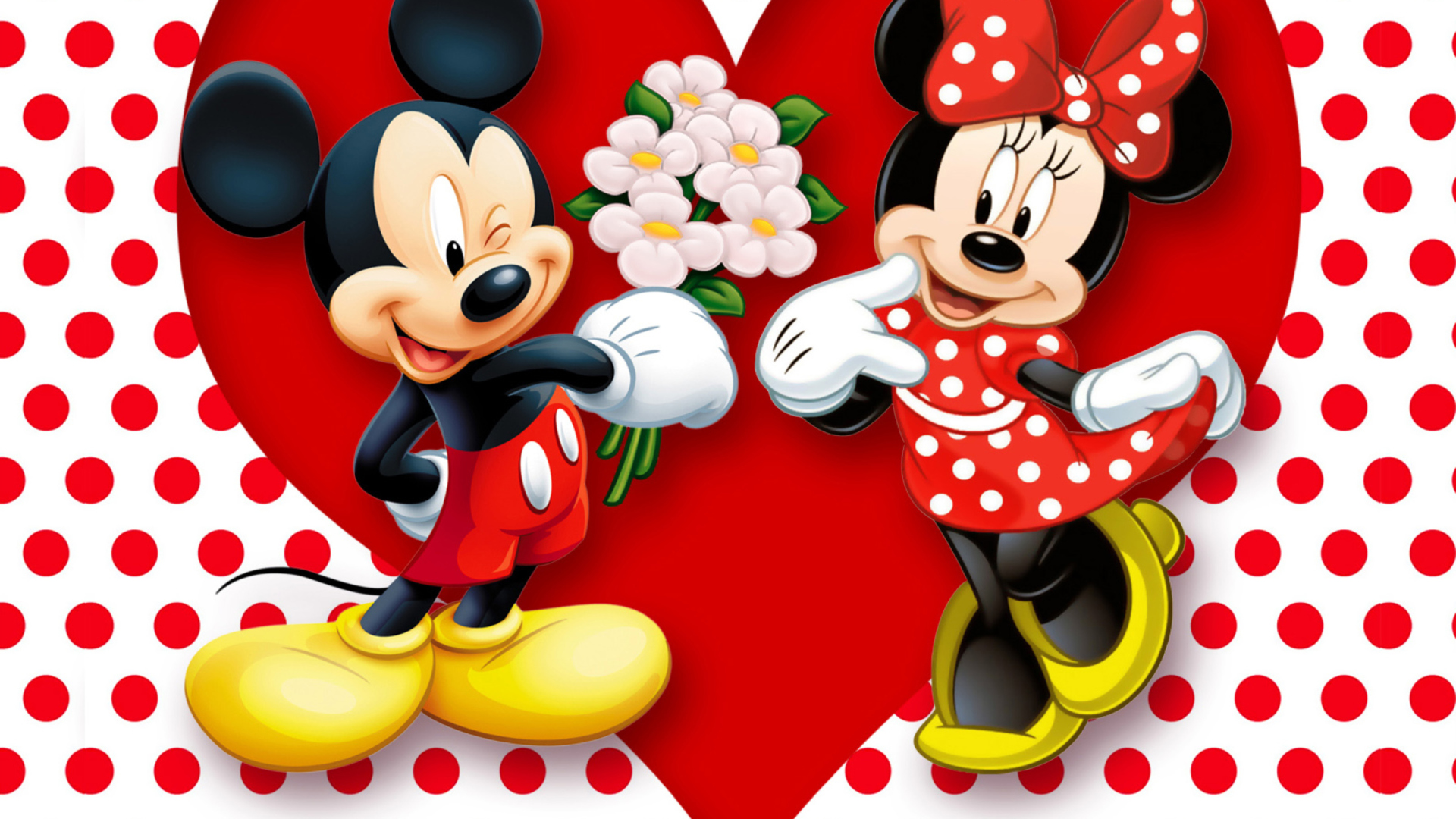 Nice Images Collection: Minnie Mouse Desktop Wallpapers
