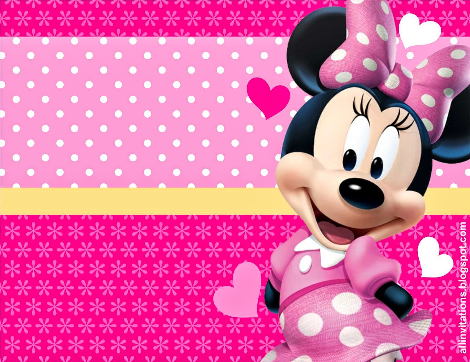 HD Quality Wallpaper | Collection: Cartoon, 1536x1182 Minnie Mouse
