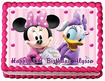 HD Quality Wallpaper | Collection: Cartoon, 355x273 Minnie Mouse & Daisy Duck