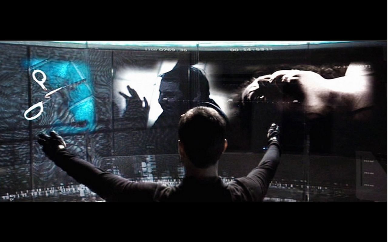 Minority Report Pics, Movie Collection