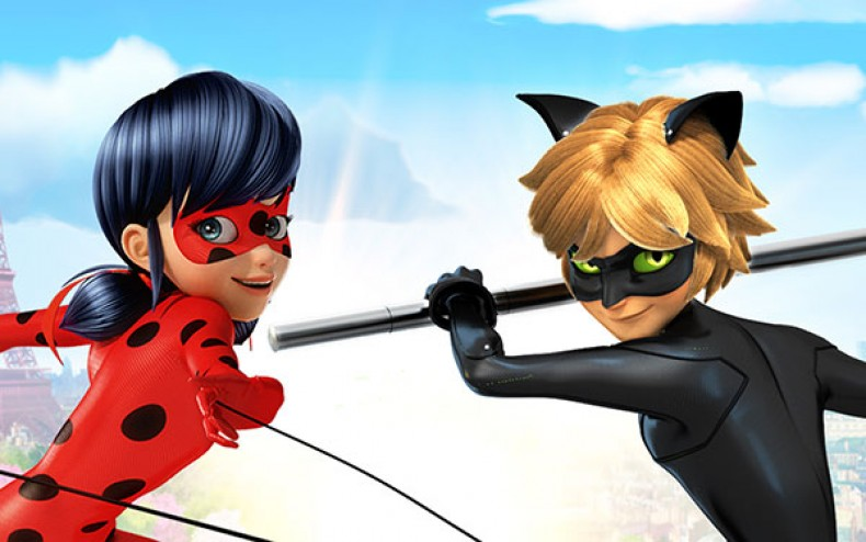 Nice Images Collection: Miraculous: Tales Of Ladybug & Cat Noir Desktop Wallpapers