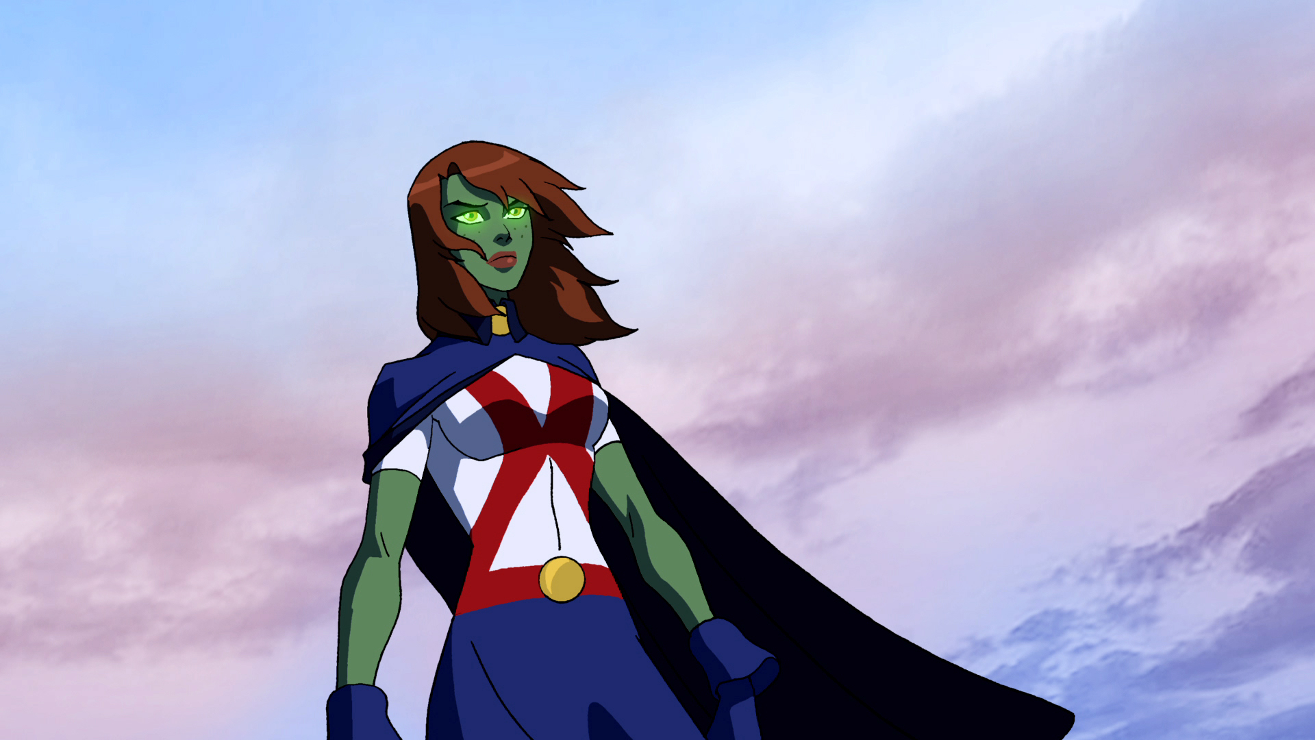 HD Quality Wallpaper | Collection: Cartoon, 1920x1080 Miss Martian