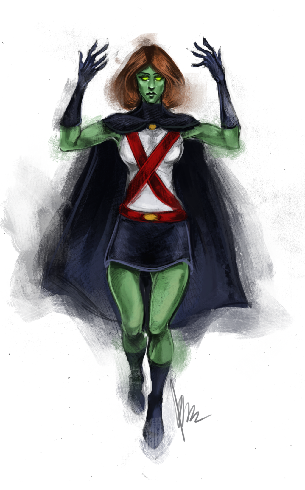 1024x1643 > Miss Martian Wallpapers