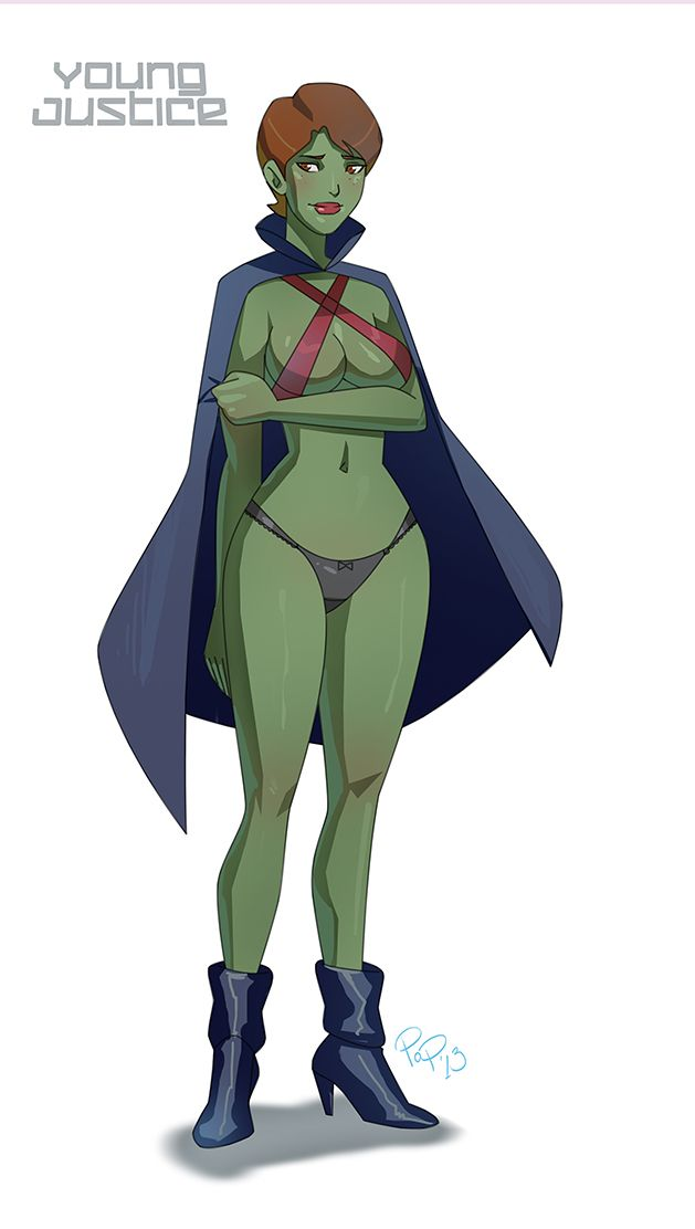 Nice wallpapers Miss Martian 629x1112px