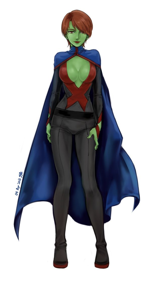 Nice wallpapers Miss Martian 600x1115px