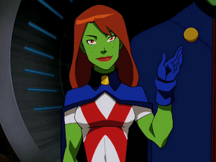 Miss Martian Backgrounds, Compatible - PC, Mobile, Gadgets| 306x230 px