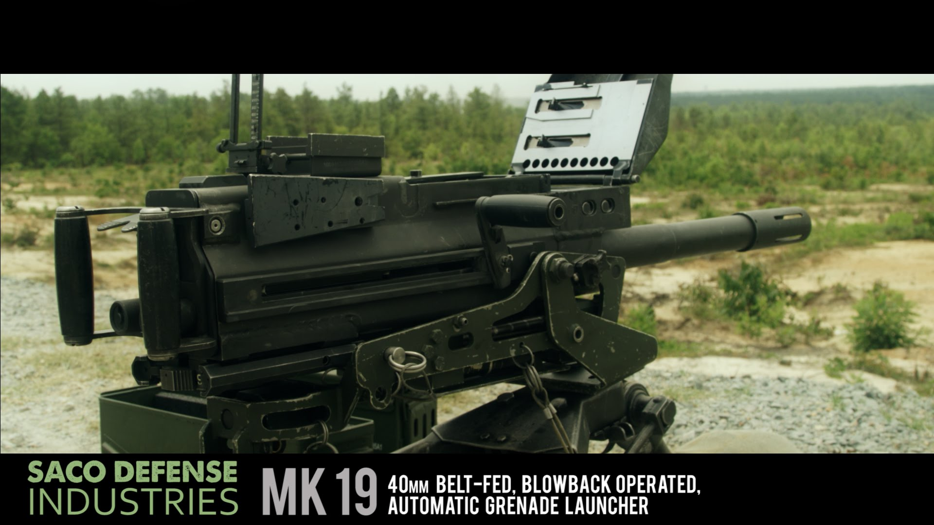 High Resolution Wallpaper | Mk 19 Grenade Launcher 1920x1080 px