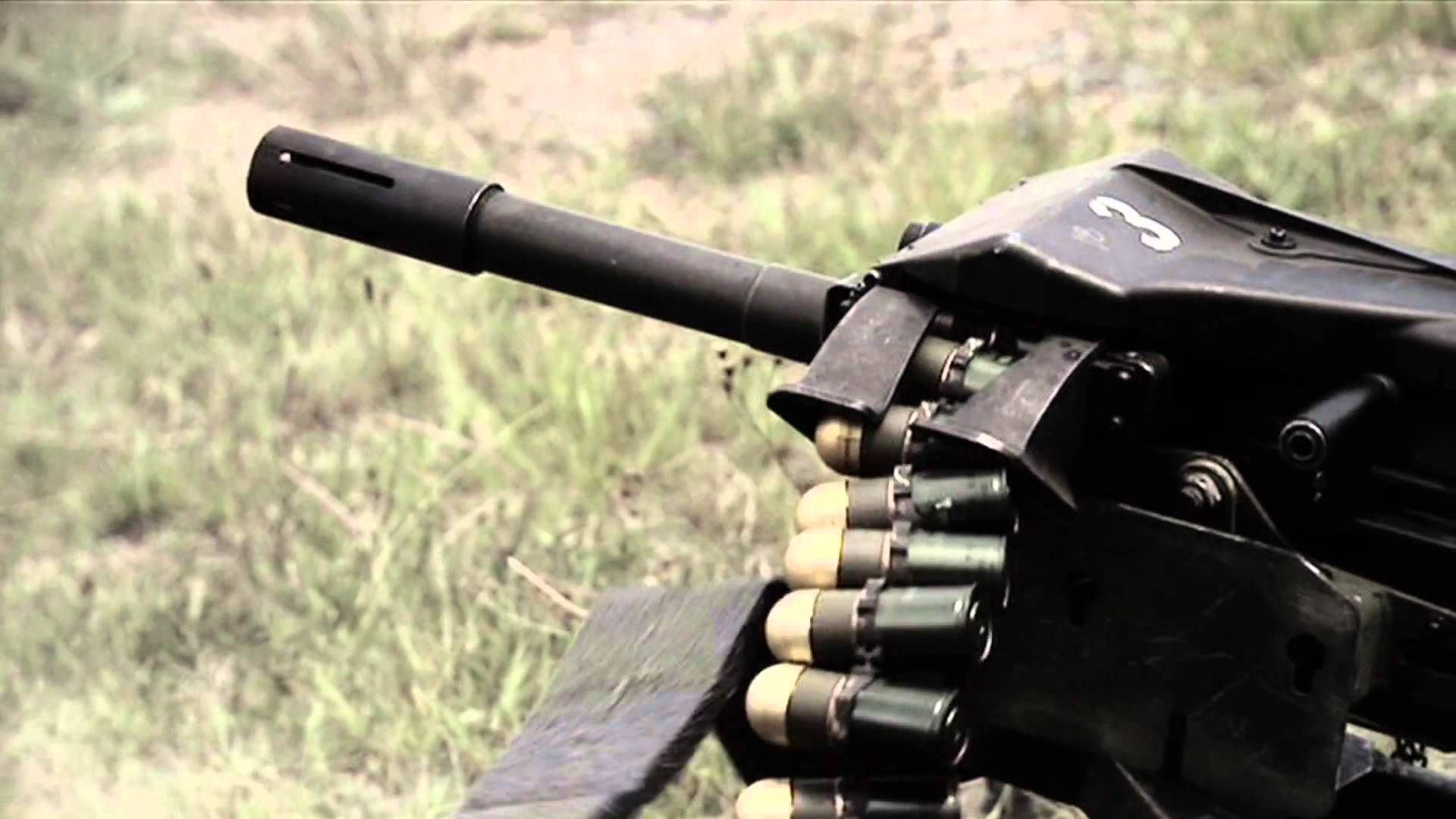 Nice Images Collection: Mk 19 Grenade Launcher Desktop Wallpapers
