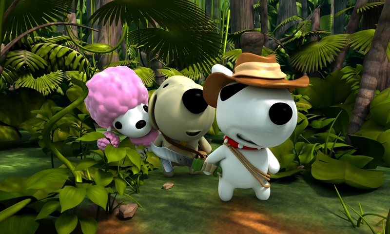 HD Quality Wallpaper | Collection: Cartoon, 800x480 Monk The Little Dog