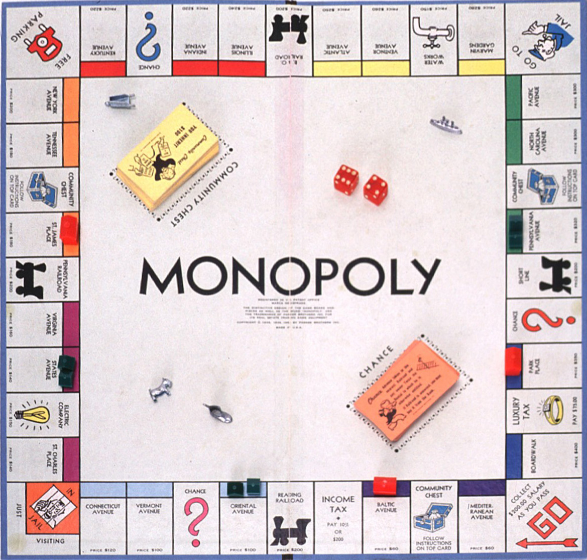 Monopoly Backgrounds on Wallpapers Vista