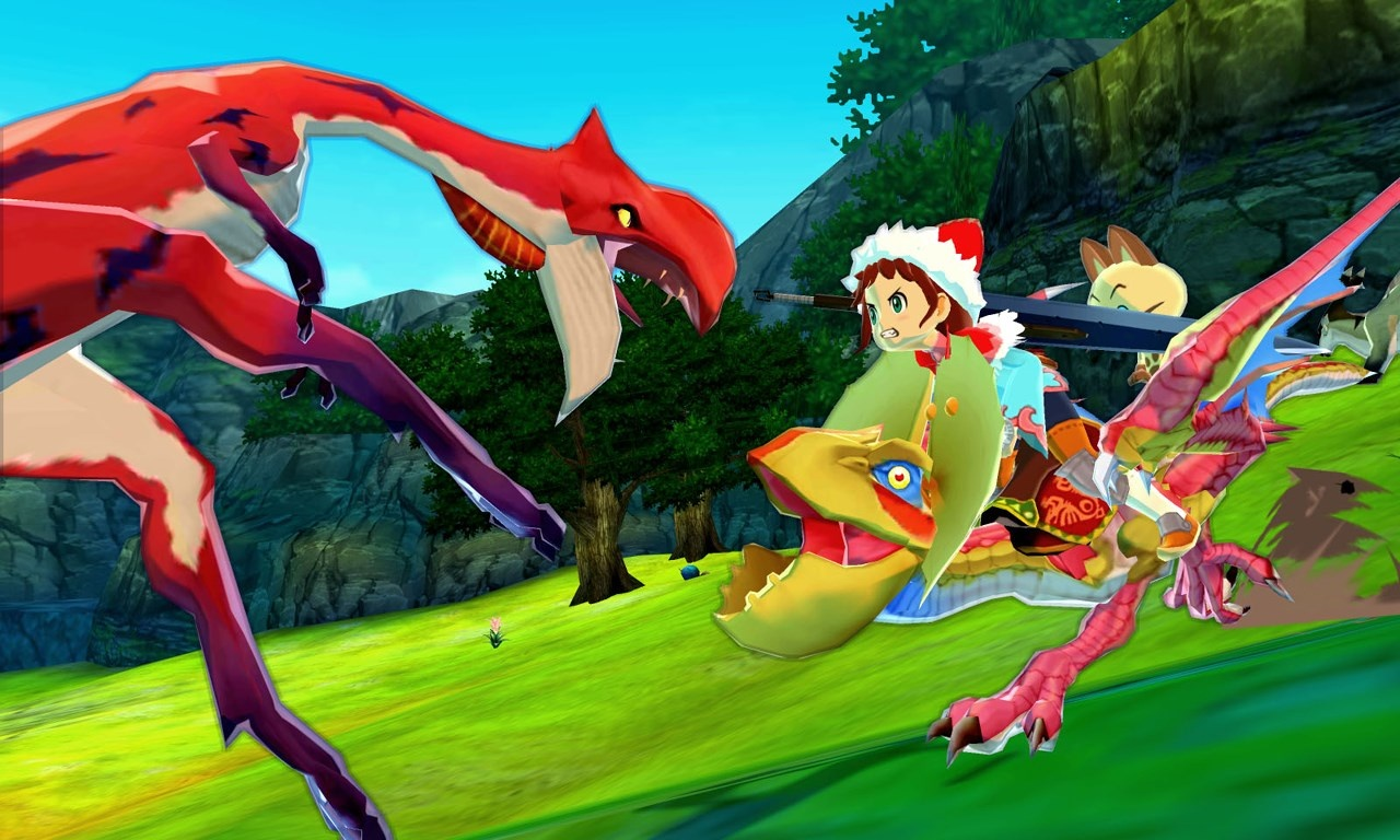 Monster Hunter Stories Backgrounds, Compatible - PC, Mobile, Gadgets| 1280x768 px