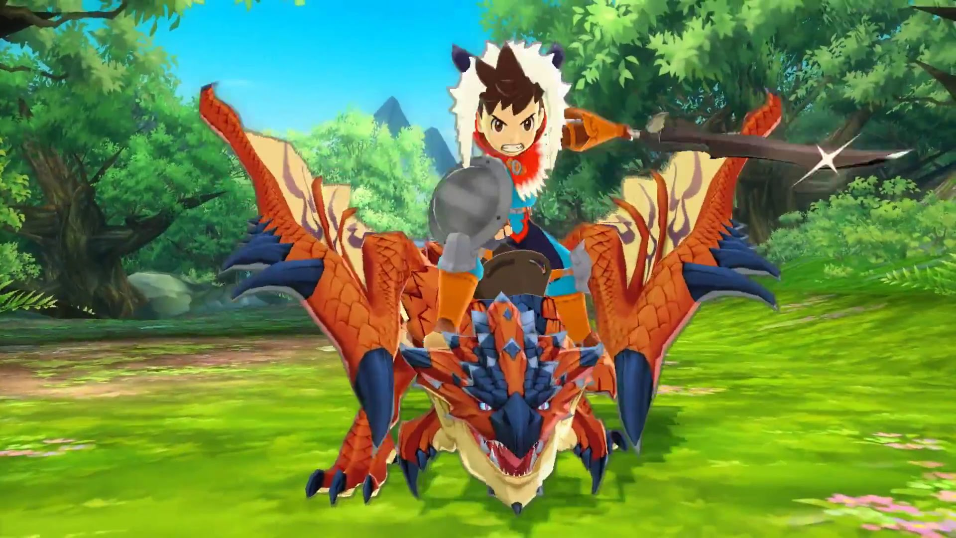 Nice wallpapers Monster Hunter Stories 1920x1080px
