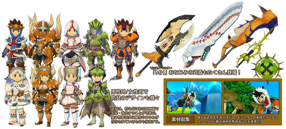 Nice wallpapers Monster Hunter Stories 1200x540px