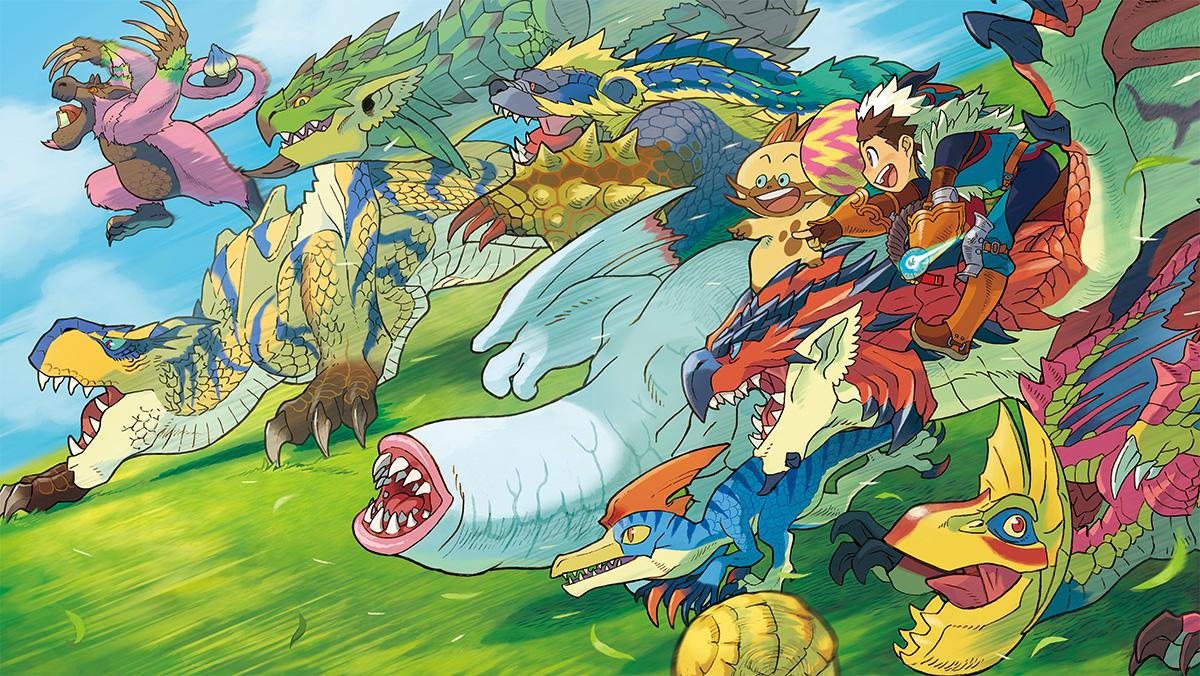HQ Monster Hunter Stories Wallpapers | File 588.24Kb