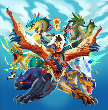 HD Quality Wallpaper | Collection: Video Game, 367x374 Monster Hunter Stories
