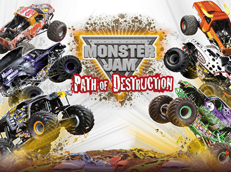 Monster Jam Path Of Destruction Wallpapers Video Game Hq Monster Jam Path Of Destruction Pictures 4k Wallpapers 2019