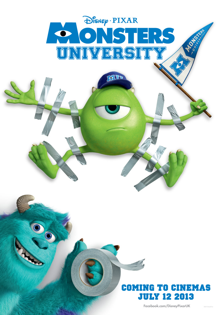 Monsters Univeristy High Quality Background on Wallpapers Vista