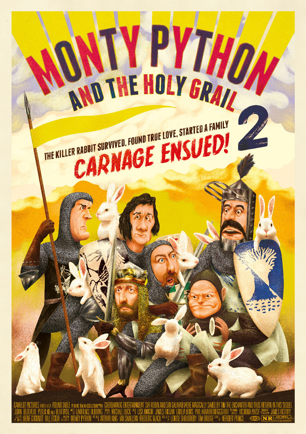 Nice Images Collection: Monty Python And The Holy Grail Desktop Wallpapers