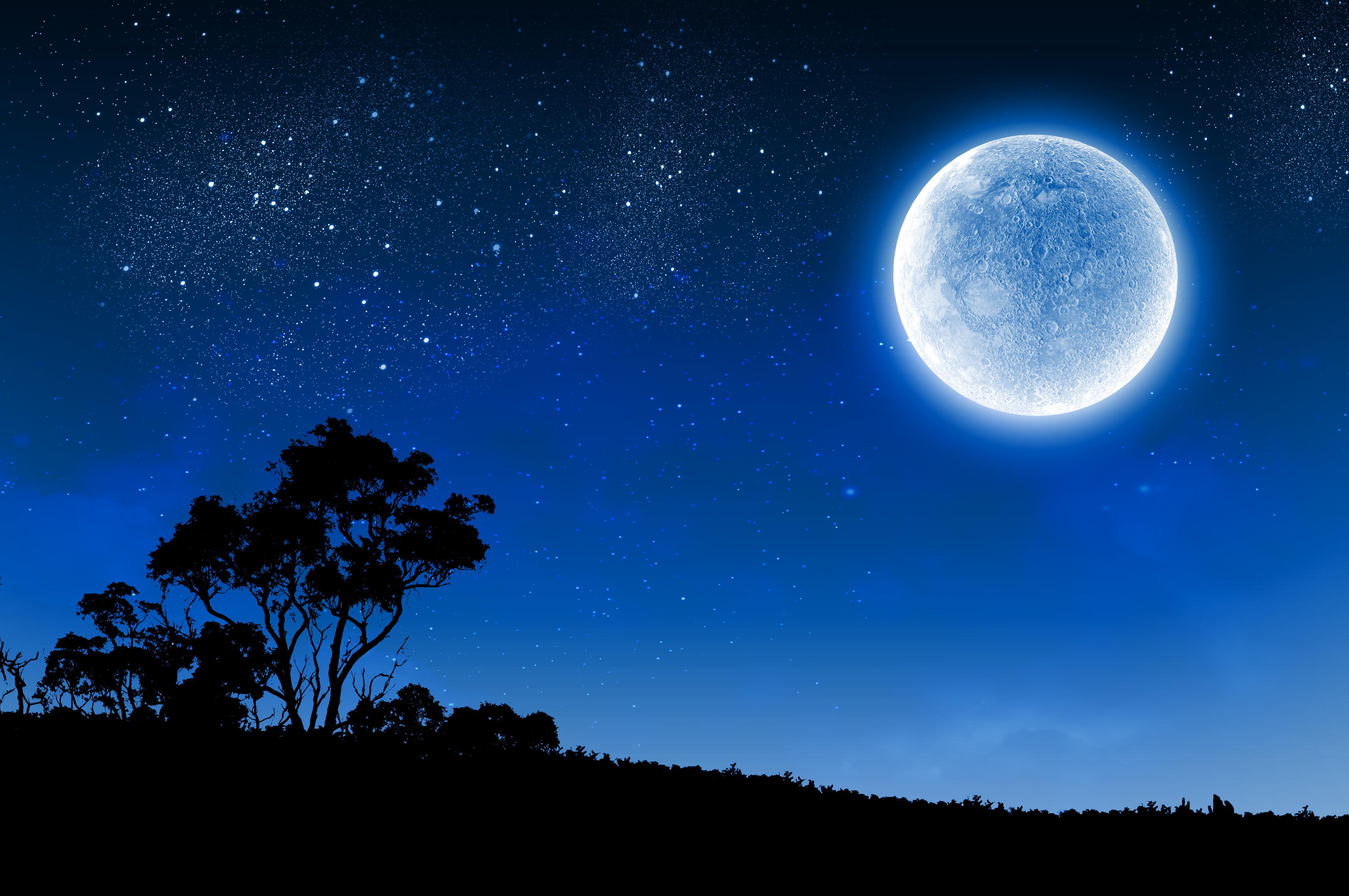 Moon Backgrounds, Compatible - PC, Mobile, Gadgets| 4288x2848 px