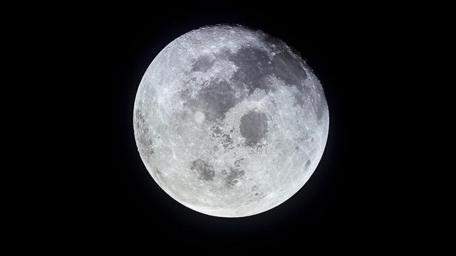 Moon Backgrounds, Compatible - PC, Mobile, Gadgets| 640x360 px