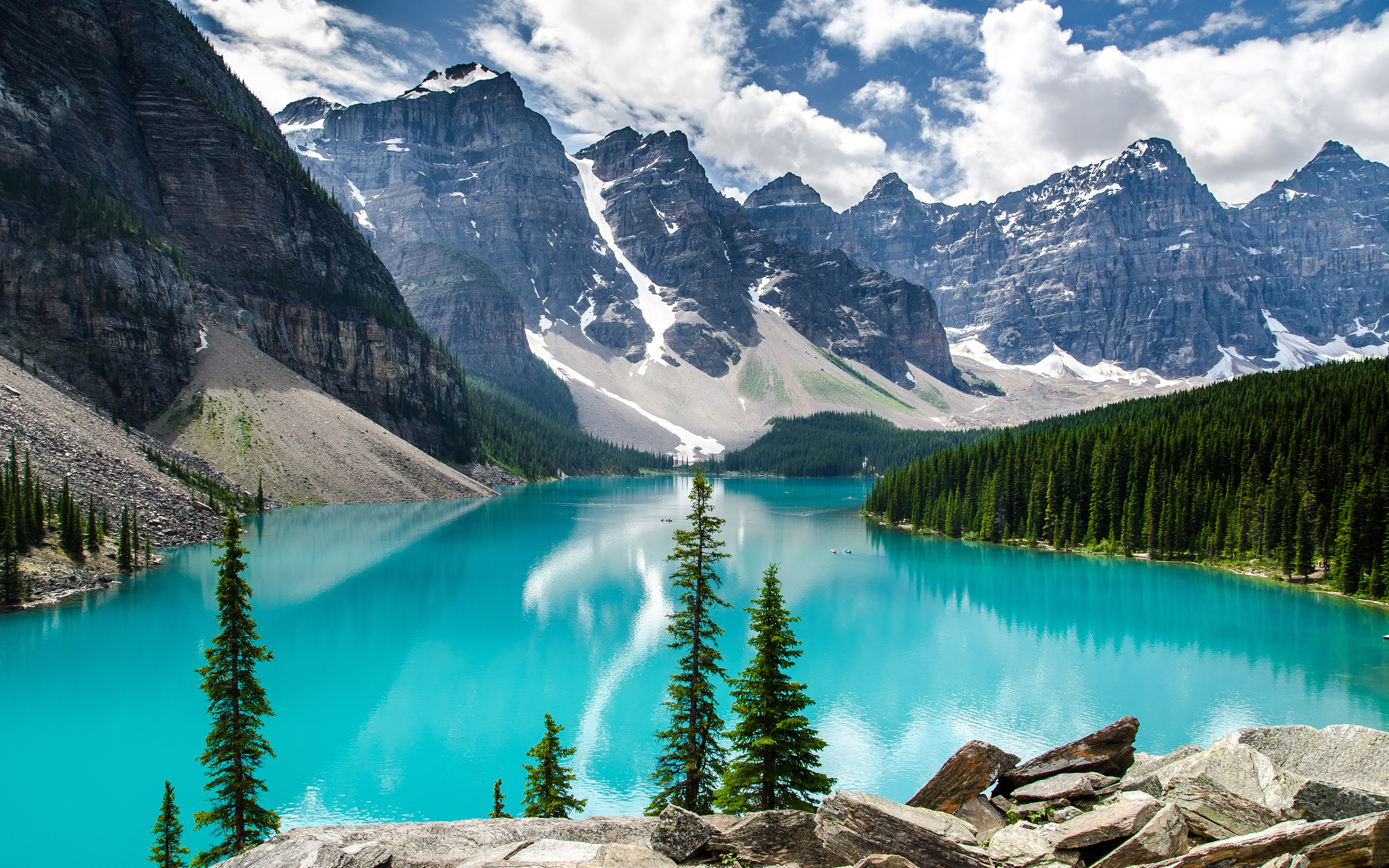 HD Quality Wallpaper | Collection: Earth, 2880x1800 Moraine Lake
