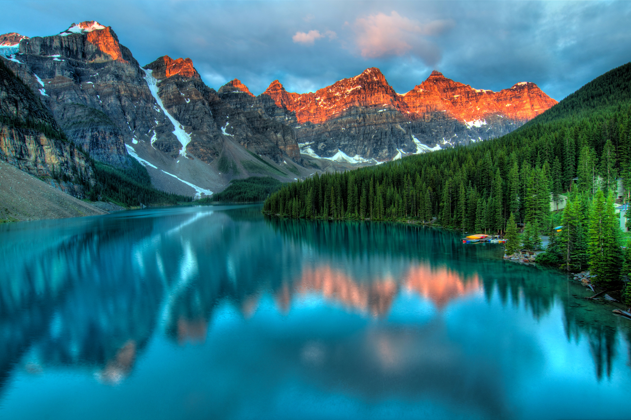 Moraine Lake High Quality Background on Wallpapers Vista