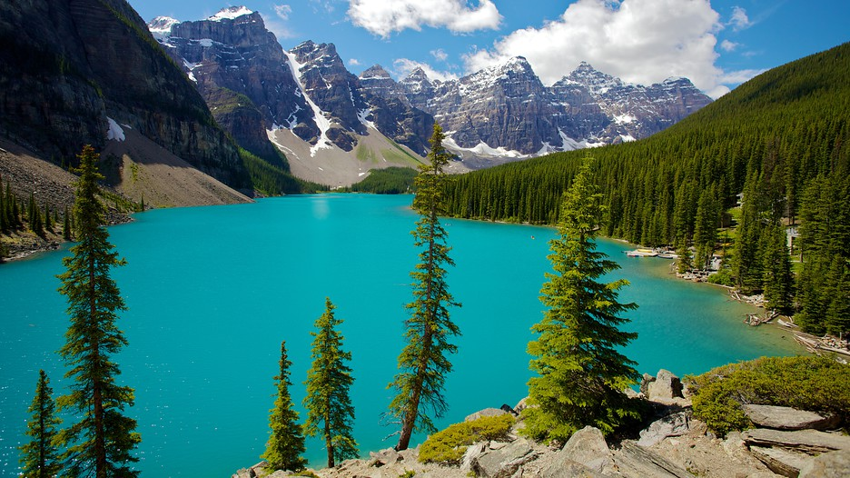 HD Quality Wallpaper | Collection: Earth, 936x526 Moraine Lake