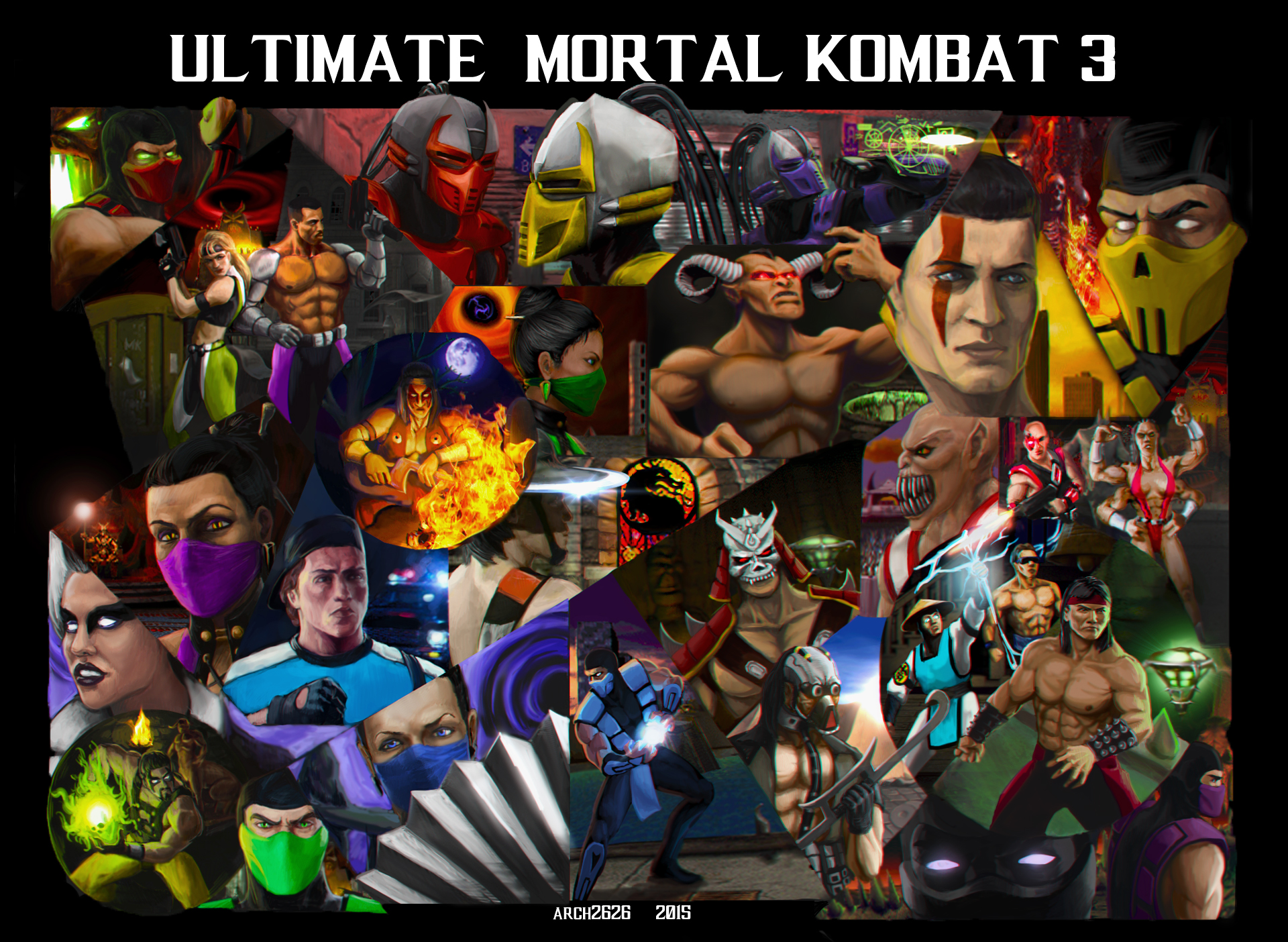 Mortal Kombat 3 Wallpapers Video Game Hq Mortal Kombat 3