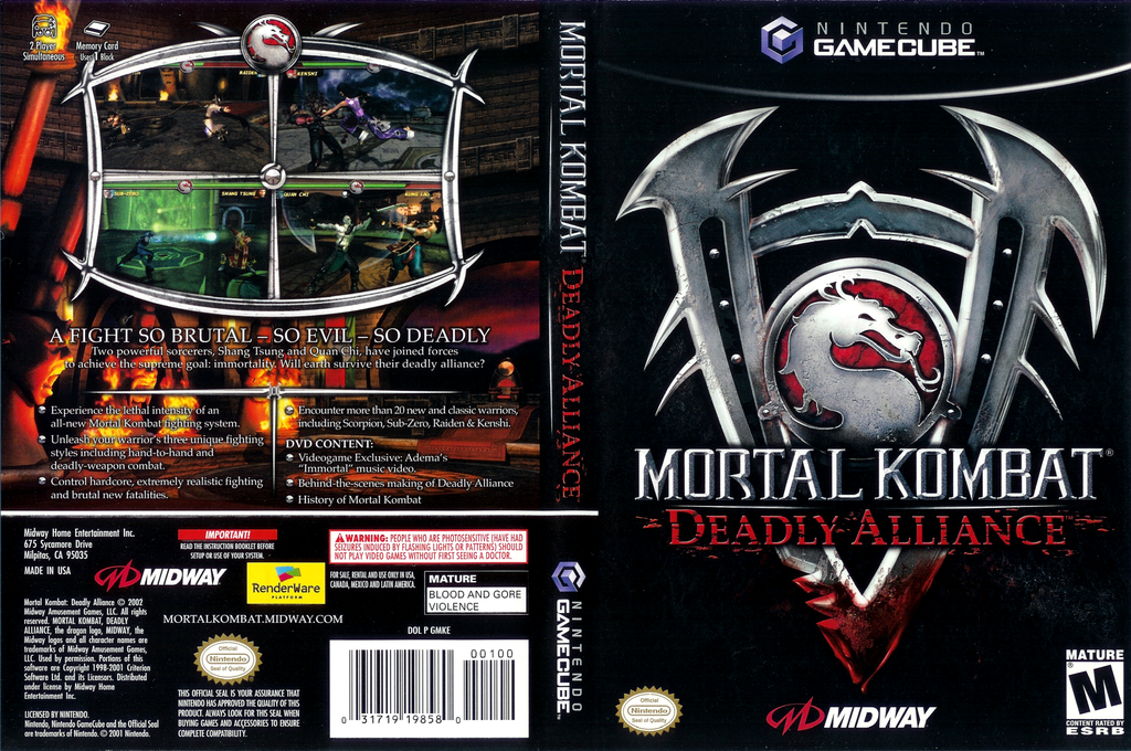 Mortal Kombat: Deadly Alliance wallpapers, Video Game, HQ