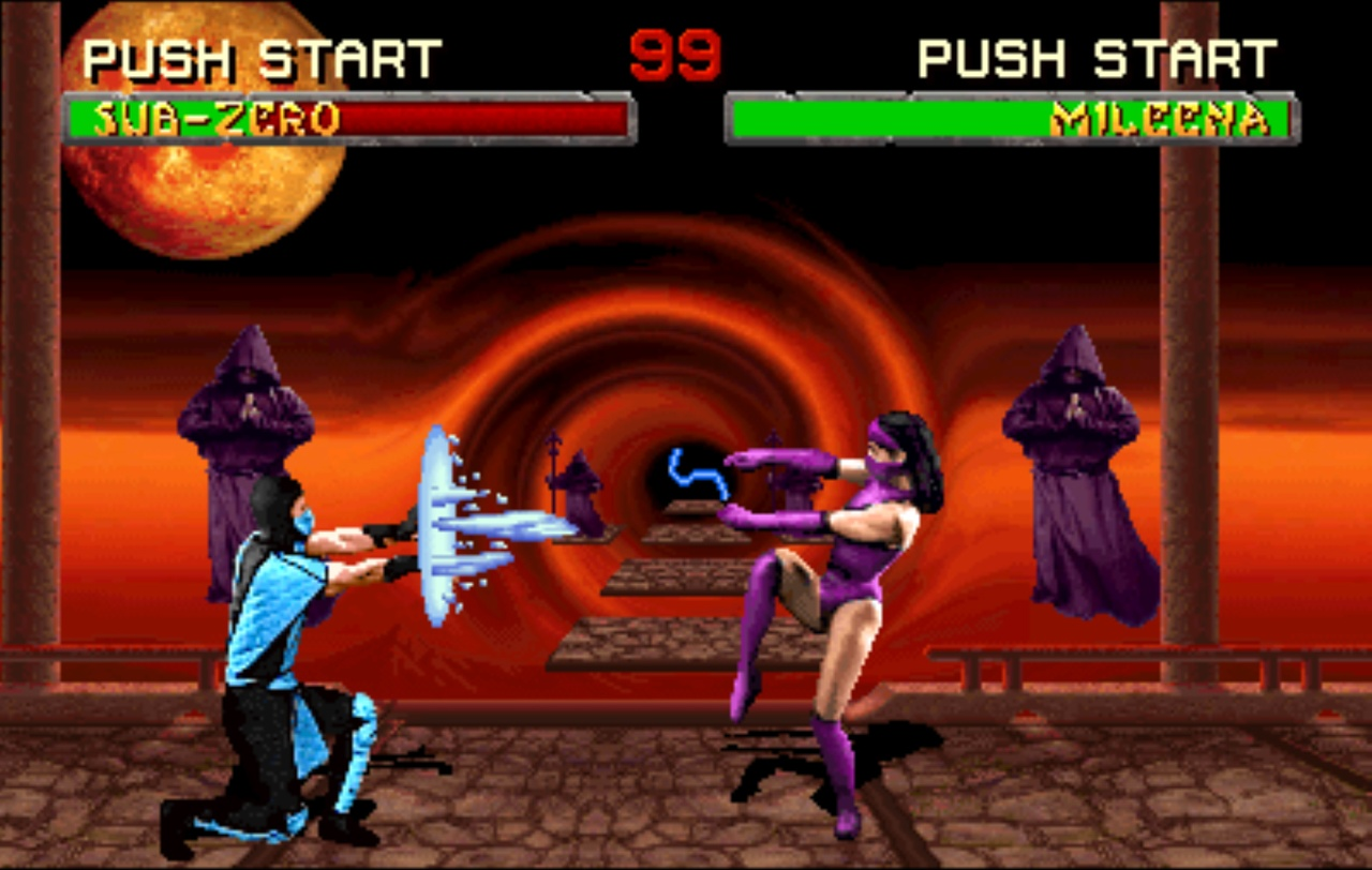 Mortal Kombat Ii Wallpapers Video Game Hq Mortal Kombat Ii