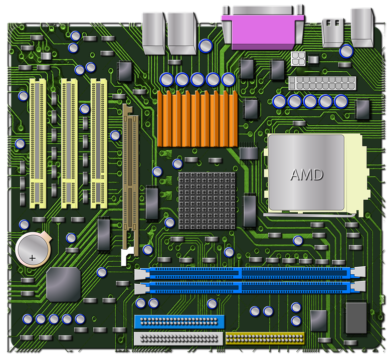 HD Quality Wallpaper | Collection: Technology, 782x720 Motherboard