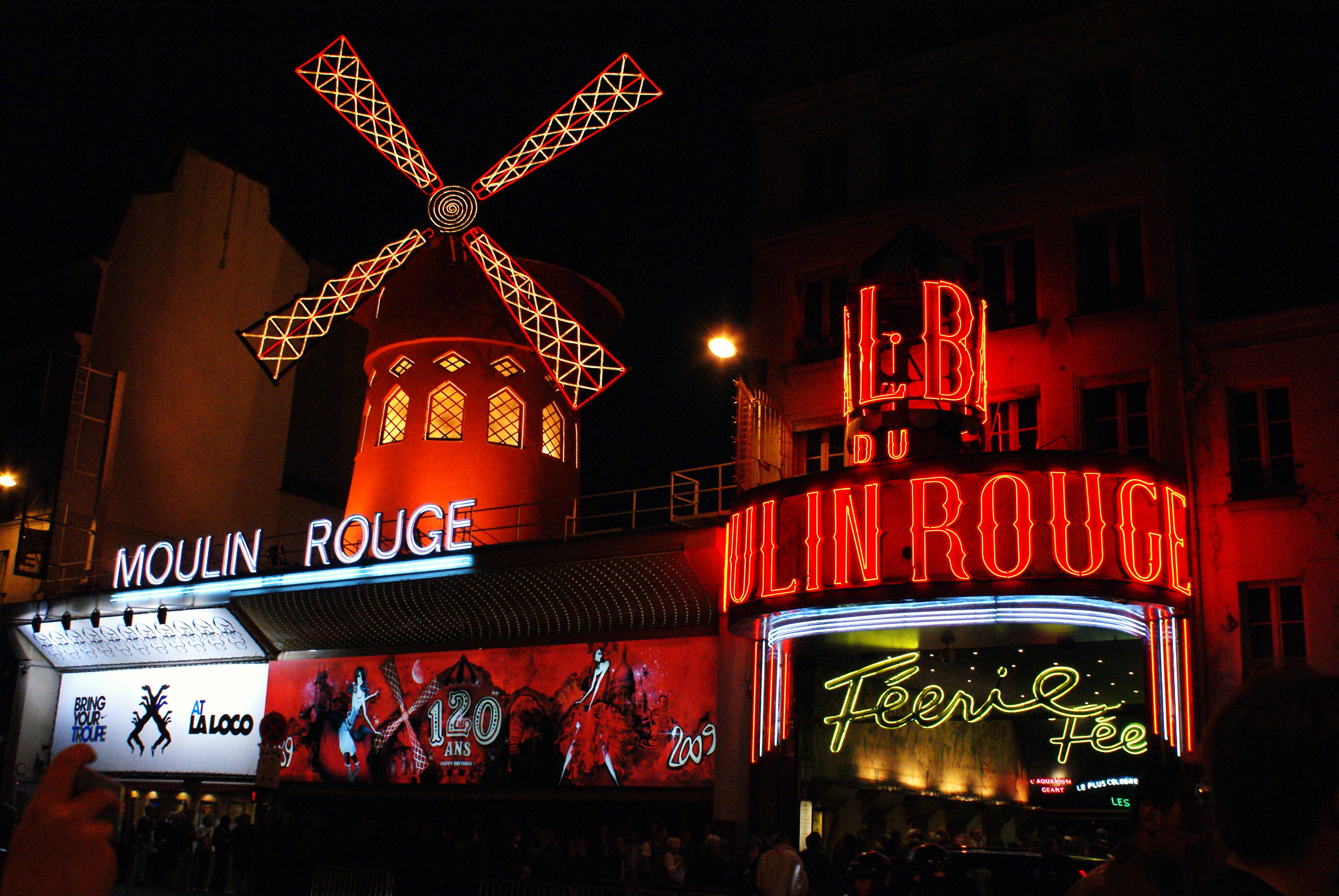 Moulin Rouge! Backgrounds on Wallpapers Vista
