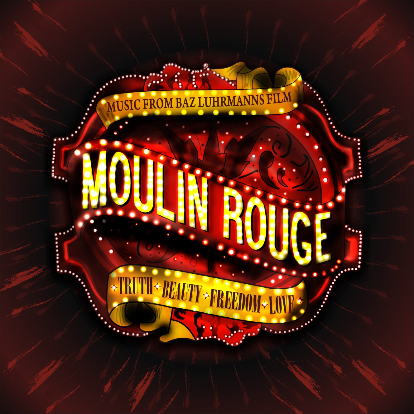 HD Quality Wallpaper | Collection: Movie, 1328x1328 Moulin Rouge!