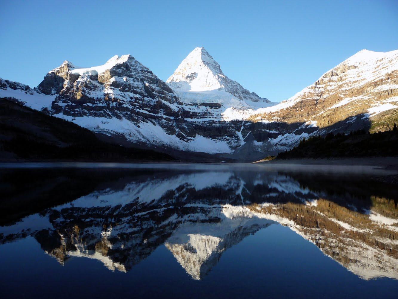 Nice Images Collection: Mount Assiniboine Desktop Wallpapers