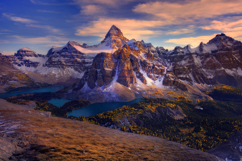 Nice wallpapers Mount Assiniboine 3000x2000px