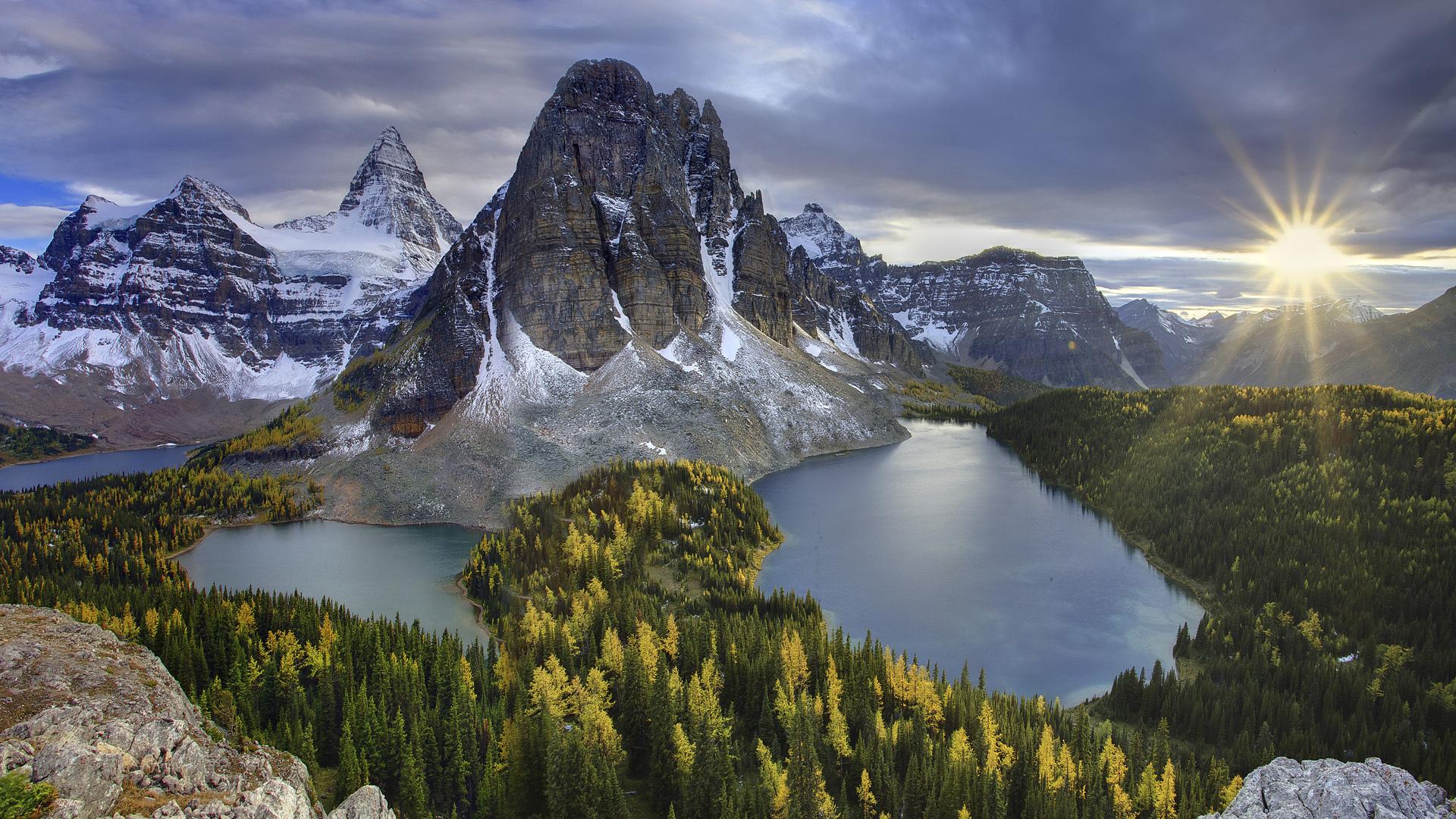 Mount Assiniboine Backgrounds, Compatible - PC, Mobile, Gadgets| 1920x1080 px