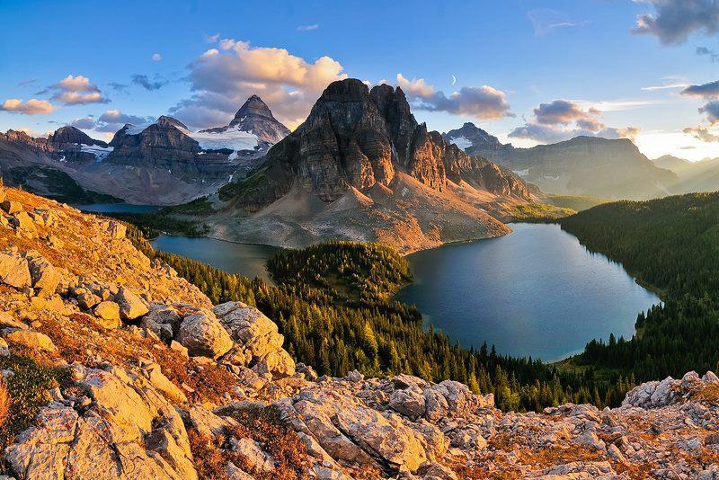 Mount Assiniboine Backgrounds on Wallpapers Vista