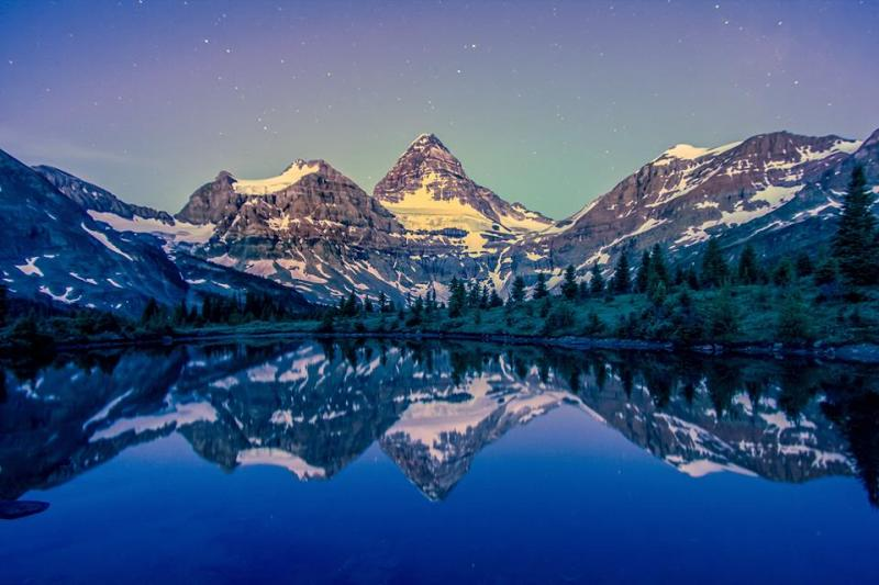 Mount Assiniboine High Quality Background on Wallpapers Vista