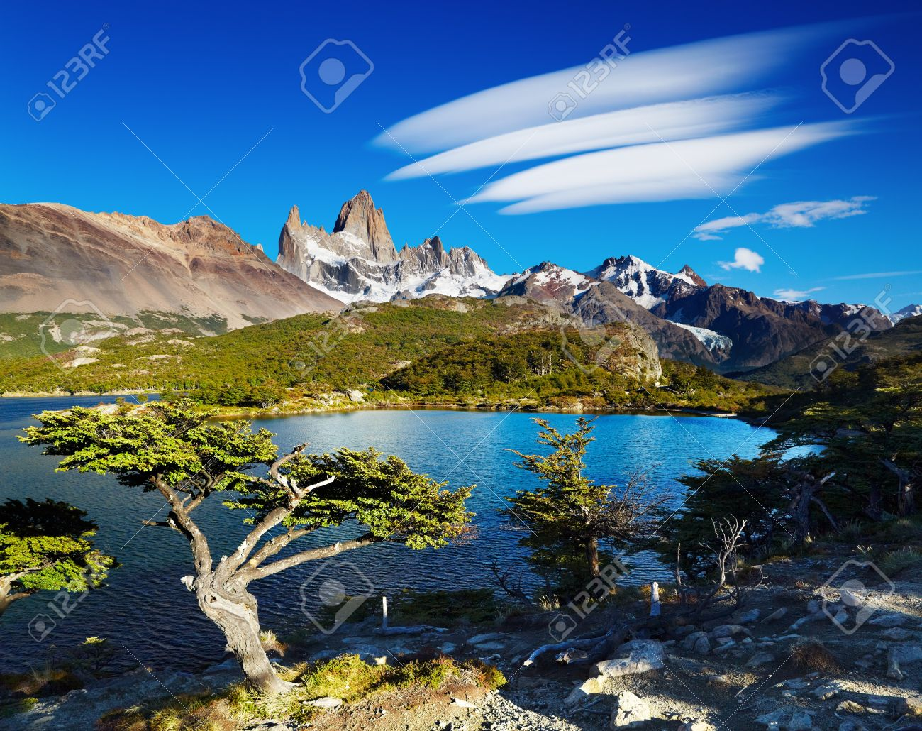 Nice Images Collection: Mount Fitzroy Desktop Wallpapers