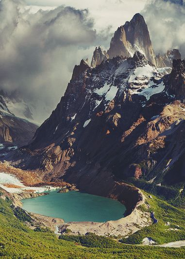 Mount Fitzroy Pics, Earth Collection