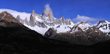 HD Quality Wallpaper | Collection: Earth, 440x218 Mount Fitzroy