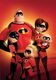 Nice Images Collection: Mr And Mrs Incredible Desktop Wallpapers