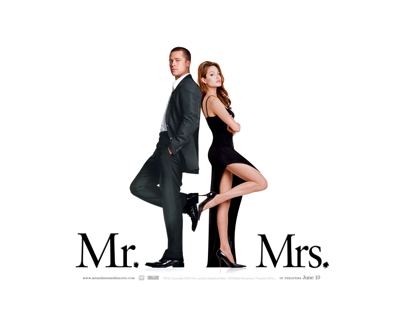 HQ Mr. & Mrs. Smith Wallpapers | File 70.2Kb