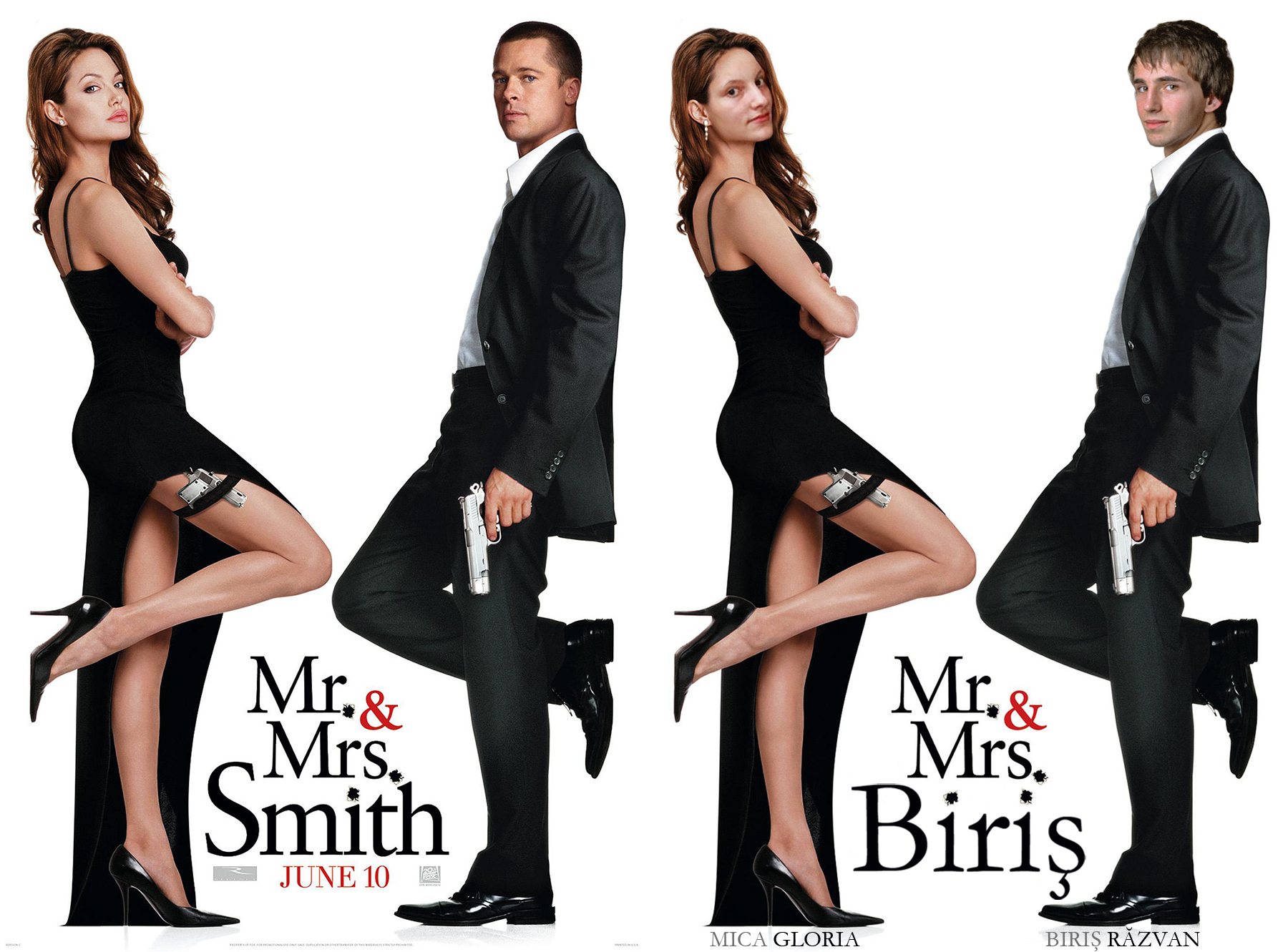Nice wallpapers Mr. & Mrs. Smith 1800x1331px