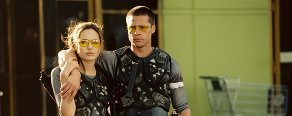 Nice wallpapers Mr. & Mrs. Smith 600x240px
